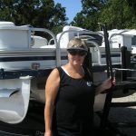 happy pontoon owner